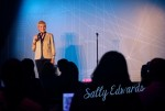 Sally Edwards - Hosting Zanies Comedy Club Show