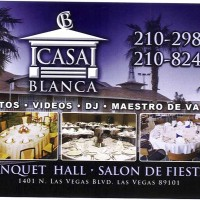 Salon de fiestas- Casablanca Banquet Hall - Cake Decorator in Las Vegas, Nevada