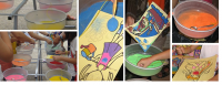 Sand Art Workshop - Party Rentals in Andover, Minnesota