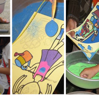 Sand Art Workshop - Children's Party Entertainment in Minneapolis, Minnesota