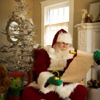 Santa Bruce Cooper - Santa Claus in Stockton, California