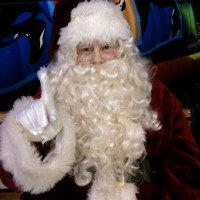 Santa Claus - Santa Claus in Garland, Texas