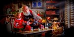 A Cookie Party with Santa