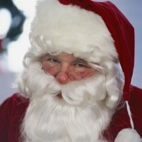 Santa Claus - Impersonator in Santa Monica, California