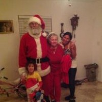 Santa Claus - Santa Claus in North Miami Beach, Florida