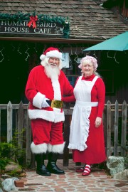 Santa Harley Bob and Mrs. Claus