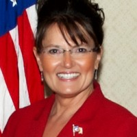Cecilia Thompson as Sarah Palin - Impersonator in Laconia, New Hampshire