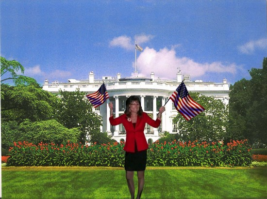 Sarah at The White House