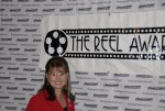 Debbie as Sarah Palin at The Reel Awards
