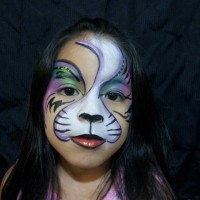 Sassy smiles - Face Painter in The Woodlands, Texas