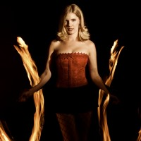 Scarlett Sinferno - Fire Performer in Belleville, Illinois