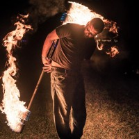 Scorch - Fire Performer in Sarasota, Florida