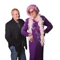 Scott Mason as Dame Edna - Comedian in Bear, Delaware