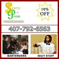 Serve & Pour - Wait Staff in Cocoa, Florida