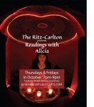 Readings with Alicia at the Riz-Carlton Boston
