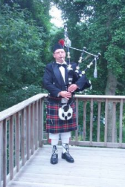 Pipe Major Sheldon C. Hamblin