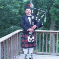 Pipe Major Sheldon C. Hamblin - Bagpiper in Plymouth, Massachusetts