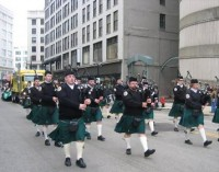 Shamrock Club Color Guard, Pipes & Drums