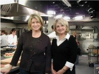 Sharon as Martha Stewart - Impersonators in Orange County, California