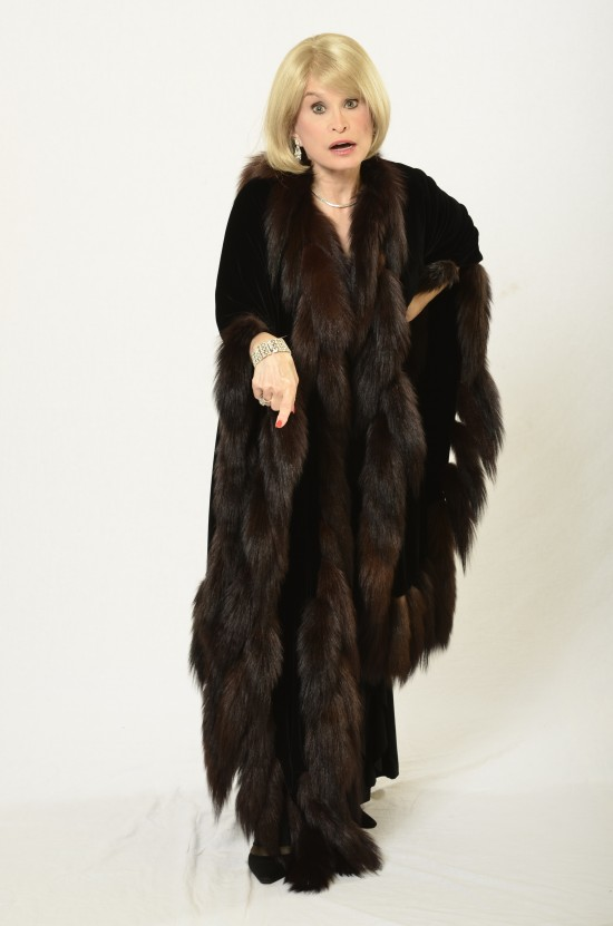 Joan in Mink