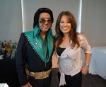 Elvis with Malou Nubla