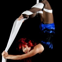 Aerial Showgirls - Contortionist in Garden Grove, California