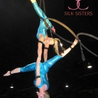 Silk Sisters - Fire Eater in Huntington Beach, California