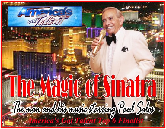 Paul Salos AGT Top 6 Finalist