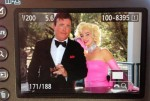 Dean and Marilyn on Camera