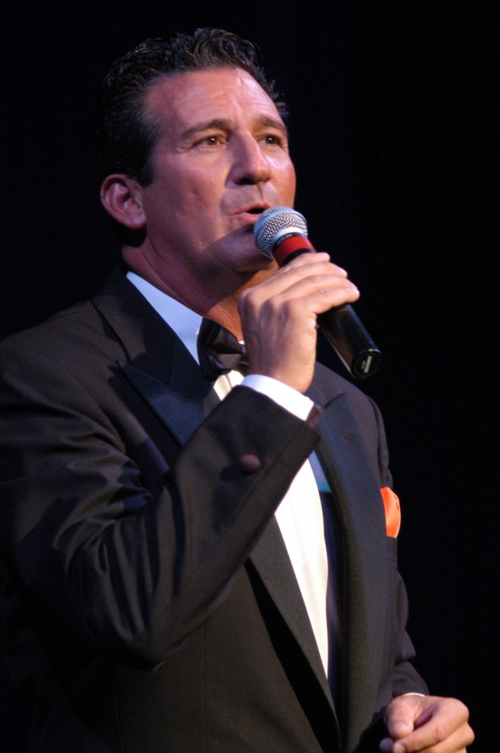 Rick Michel Singing on Stage
