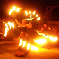 Sister Shimmy and the Flaming Cupcakes - Stilt Walker in Fremont, California