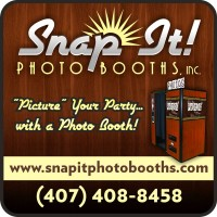 Snap It! Photo Booths - Wedding Photographer in Melbourne, Florida