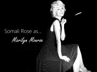 Somali Rose - Marilyn Monroe Impersonator in St Petersburg, Florida