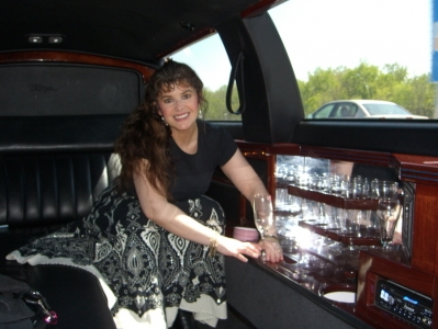 Limo Taking Soraya to a Show