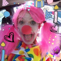 Sparkle Party Clown - Temporary Tattoo Artist in Oceanside, California