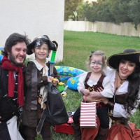 Starlite Pirate Parties - Costumed Character in Jacksonville, Florida