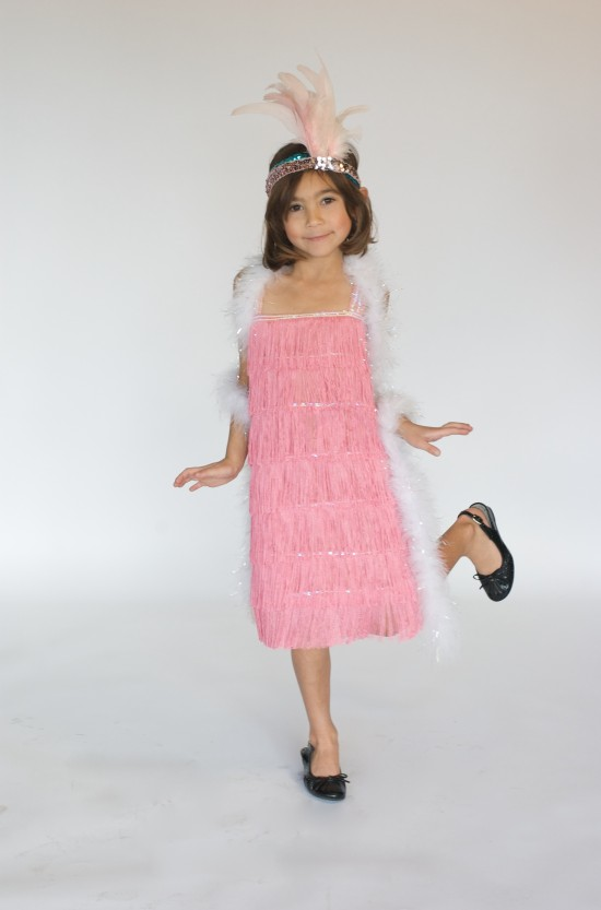 Child flapper dress