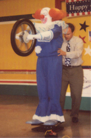 Bozo and Steve Belliveau