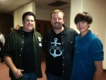 Mark Hall of Casting Crowns and Mr. Bob
