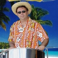 The Steel Drum Guy - One Man Band in Freeport, Illinois