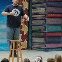 Storyteller John Weaver - Spoken Word Artist in San Jose, California