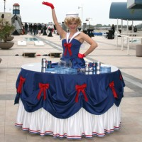 Strolling Tables by Spotlight Entertainment - Human Statue/Living Mannequin in ,
