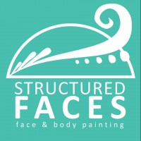 Structured Faces - Face Painter in Jackson, Michigan
