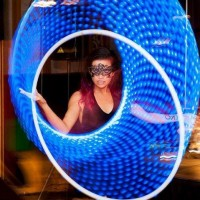 Sunglow Hoop Dance - Dance in Honolulu, Hawaii