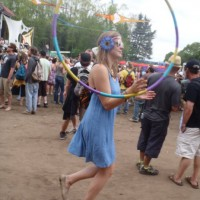Sunshine Teal - Hoop Dancer in Fort Collins, Colorado