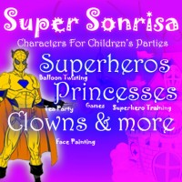 Super Sonrisa - Super Hero Party in Amarillo, Texas