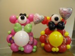 bears made with balloons
