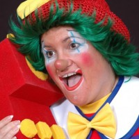 """SWEET CHEEKS THE CLOWN"" - Children's Party Magician in San Bernardino, California"