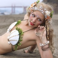 Swimming Mermaid - Interactive Performer in Stockton, California
