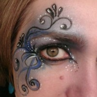 Swirls & Twirls Face Painting - Makeup Artist in Lawrence, Kansas